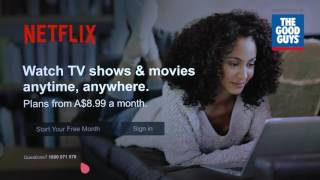 LG Smart TV Easy Netflix Set Up Available at The Good Guys