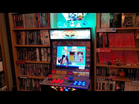 Arcade1up Street Fighter II moded cabinet. from Clem84