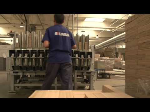UNILIN production process parquet