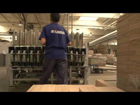 UNILIN production process parquet