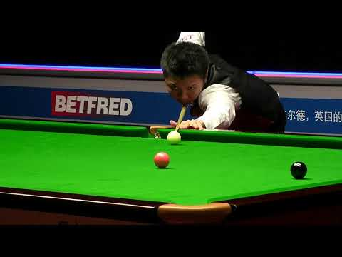 ZHOU Yuelong 73 Clearance | Betfred World Championship Qualifying R3