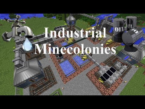 Industrial Minecolonies 1.11.2 Episode 9 - Water Treatment Plant