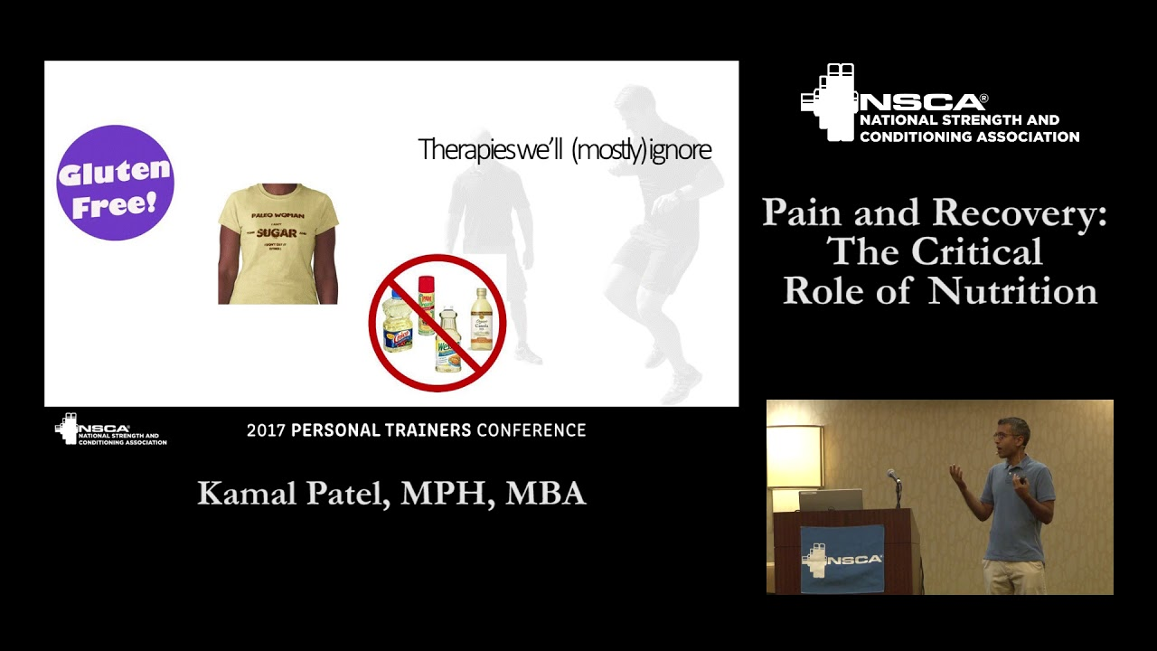Pain and Recovery: The Critical Role of Nutrition, with Kamal Patel |  NSCA com