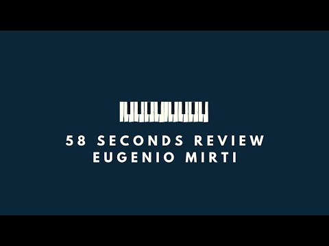 "(IT) Eugenio Mirti - ""Jazzit"" - consiglia Rach Mode On. La Recensione su 58 Seconds Review"