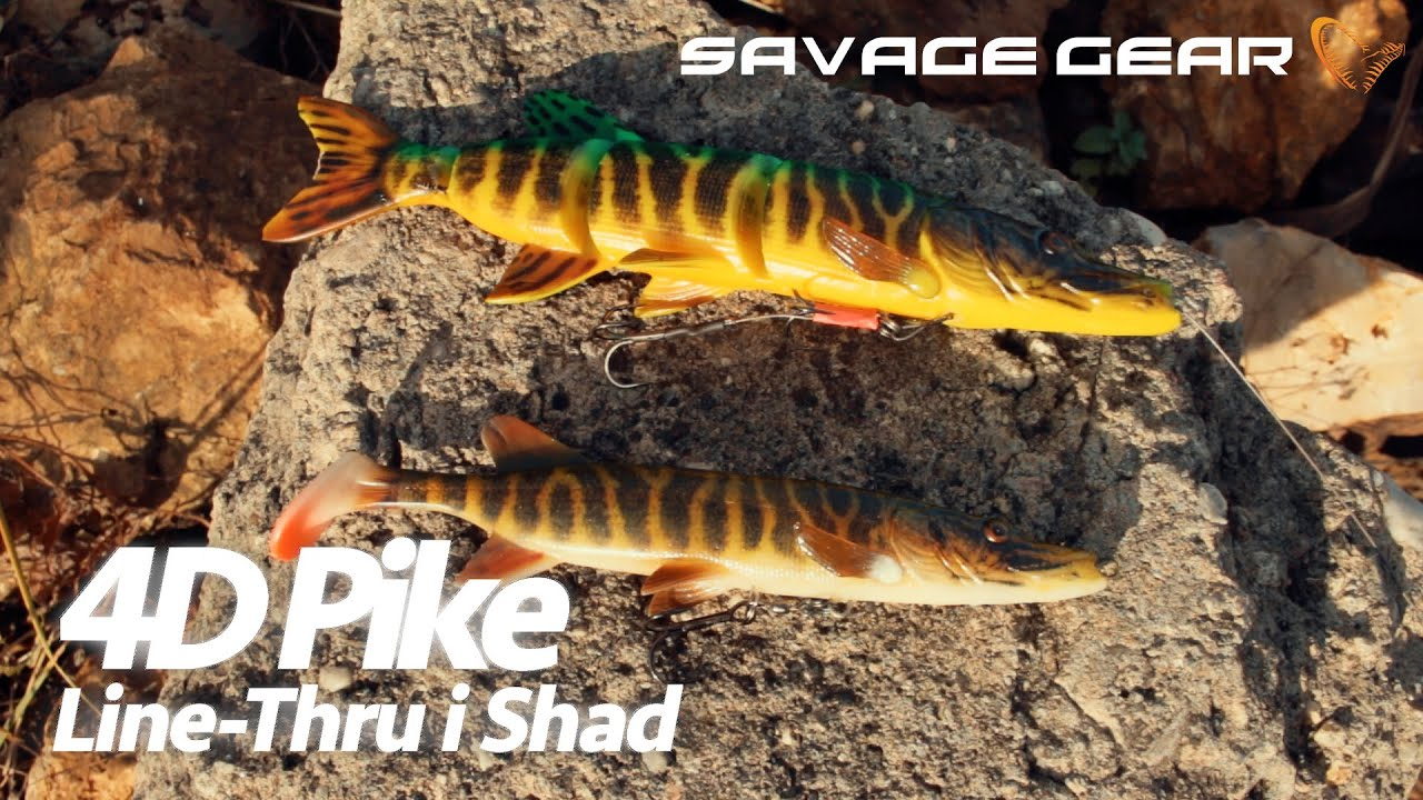 Savage Gear 4D PIKE SHAD 20 cm 65 g