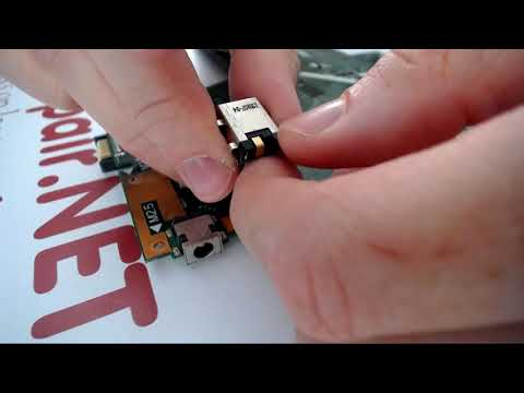 Asus X551M X551MAV Laptop Disassembly Charge Port Repair How To Fix Power Jack Guide