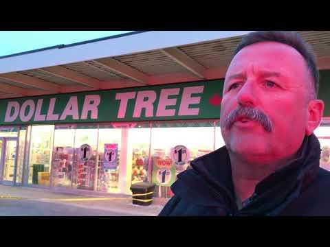 Car crashes through Dollar Tree store