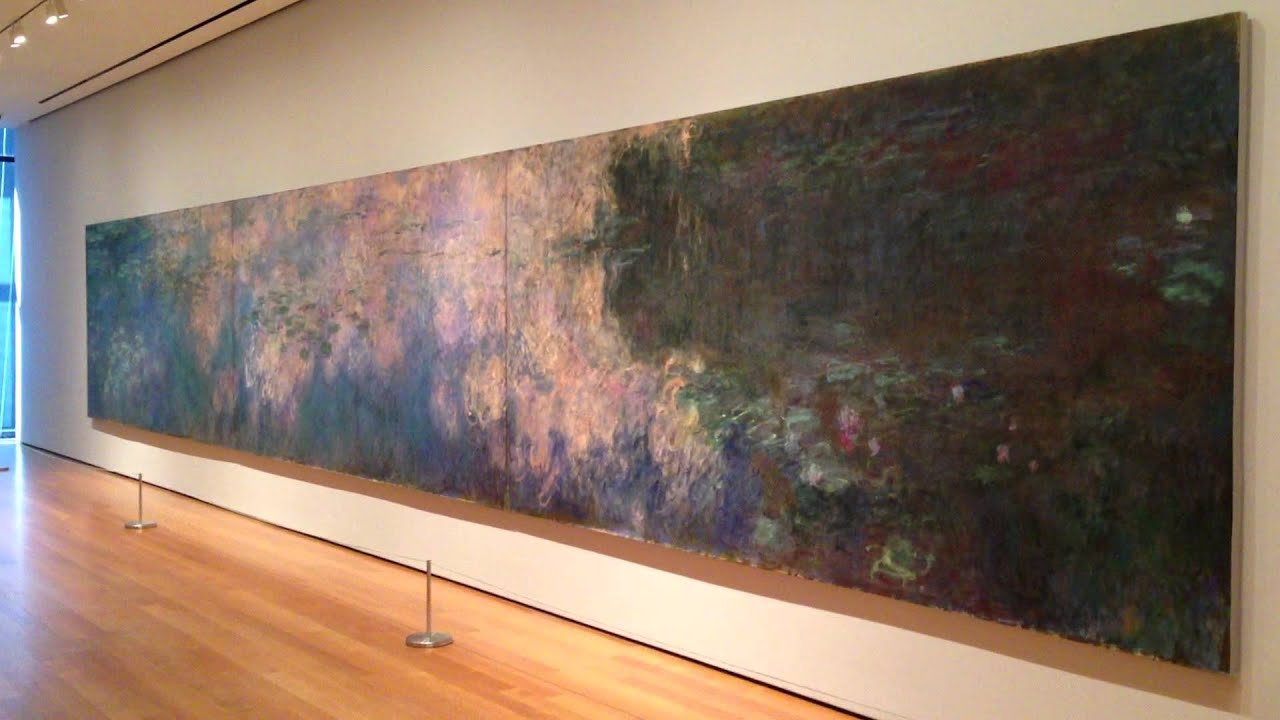 Water Lilies In Moma Youtube