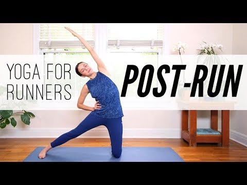 Yoga For Runners: 7 MIN POST - RUN   |   Yoga With Adriene