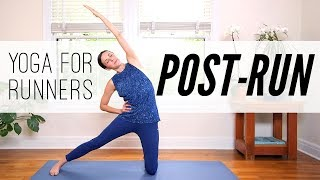Yoga For Runners: 7 MIN POST-RUN   |   Yoga With Adriene