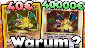 Deswegen ist DIESE Karte 40000 € wert und DIESE 40€ ❗️