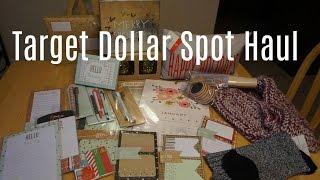 Target Dollar Spot Haul/Planner & Holiday -November