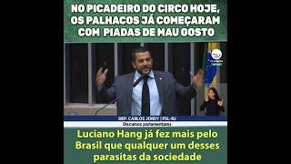 LUCIANO HANG JÁ FEZ MAIS PELO BRASIL QUE QUALQUER UM DESSES PARASITAS DA SOCIEDADE