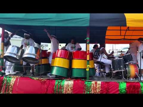 Pirate's Week Parade 2015 Steel Drum Band - Grand Cayman Islands