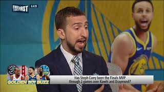 Nick Wright on Steph Curry and 2015 Finals MVP voting
