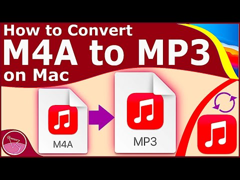 How to Convert M4A to MP3 on Mac (with Music App) - Mac OS Big Sur | 2021