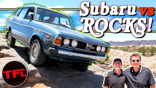 Can This Tiny Subaru Keep Up With A Brand New Jeep On The Rocks In Moab?