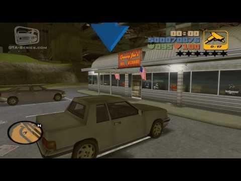 GTA 3 - Walkthrough - Mission #11 - Dead Skunk in the Trunk (HD)