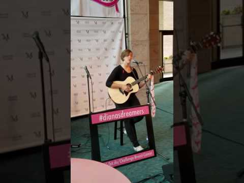 Liz Fulmer At The First Friday Breast-A-Ville Event At The Ware Center