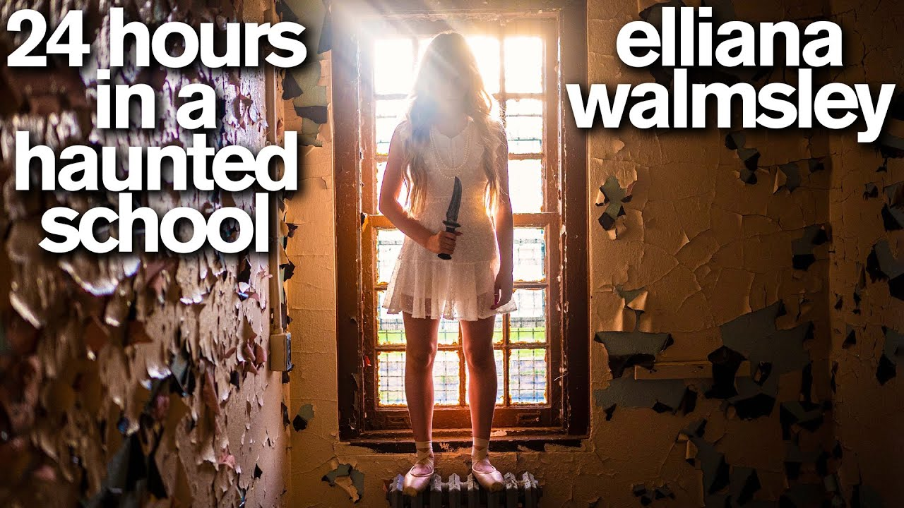 Download 24 Hours in the Most HAUNTED SCHOOL in America with Real Ghost Hunters *Scary*