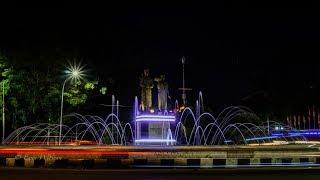 Pesona Kota Mataram -- Nusa Tenggara Barat Di Malam Hari -- Dirgahayu Kota Matar