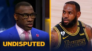 Skip & Shannon react to LeBron's flipped decision to cancel the NBA season | NBA | UNDISPUTED