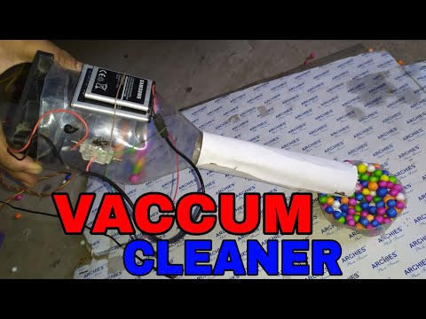 how to make a vacuum cleaner science project - Myhiton