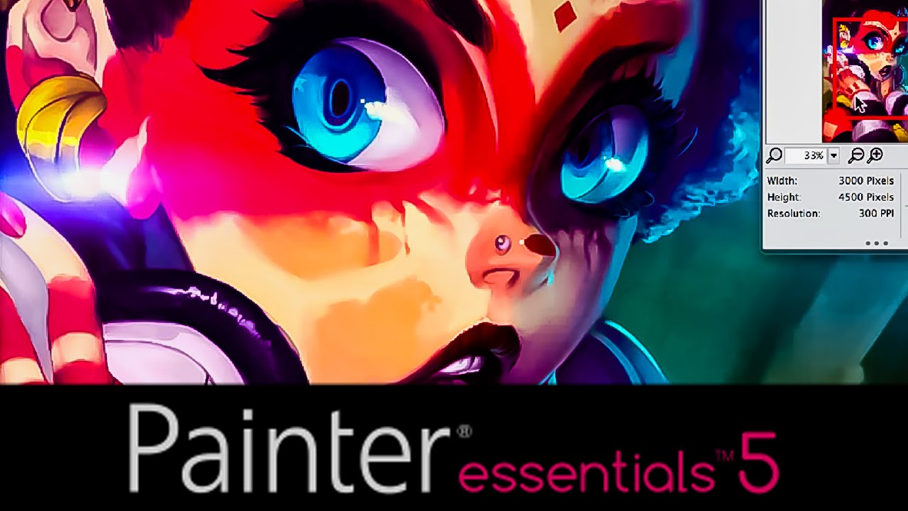 how to use layers in painter essentials 5