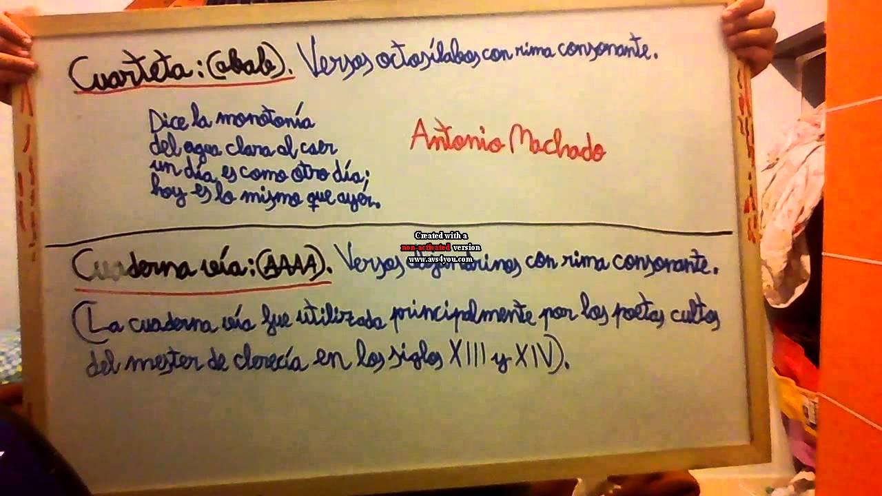 Poesía Fácil #7 Cuarteta y Cuaderna vía / Juan Junquera Borrazas ...
