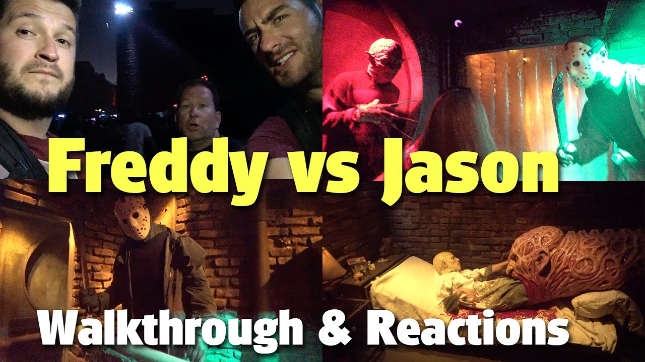 Download Freddy vs Jason: Walkthrough & Reactions | Halloween Horror Nights | Universal Studios Hollywood