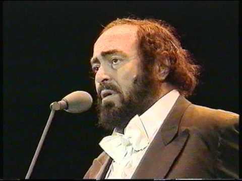 Lucciano Pavarotti Concierto completo en Bilbao 1998