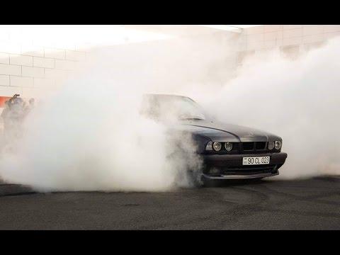 Elvin 023 BMW E34 Legal Street Drift 2017!!!