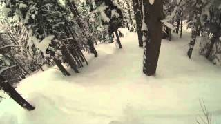 Skiing Snowboarding Steamboat Springs 2013 GoPro Thumbnail