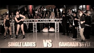 HD Single Ladies VS Gangnam Style (Epic Dance Battles)