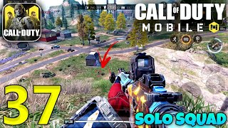 Call Of Duty Mobile 12 Kills Solo Squad Gameplay | CODM Battle Royale