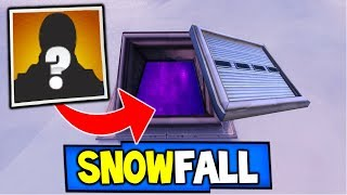 "Fortnite: SNOWFALL SKIN SECRET REVEALED! ""FORTNITE SEASON 7 ENDING"" Season 7 Storyline!"