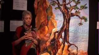 Vikki Pignatelli discusses her quilt, Against All Odds