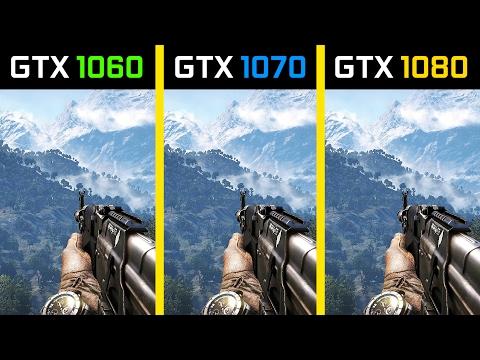 Far Cry 4 GTX 1060 vs. GTX 1070 vs. GTX 1080 |