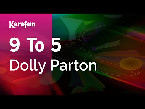 karaoke-9-to-5---dolly-parton-*