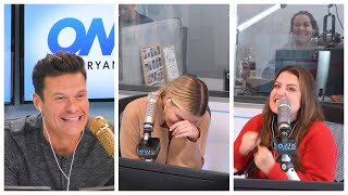 Sisanie is Scared of Patty's Schedule as a Mom | On Air With Ryan Seacrest