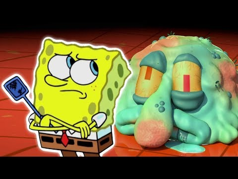 Spongebob's Unusual CGI Adventure