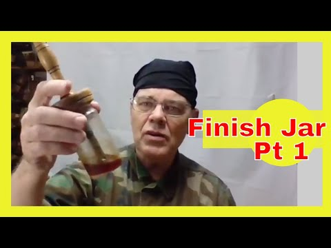 Turn a Finish Jar Lid for Woodturners – Part 1
