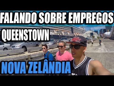 TRABALHO NO EXTERIOR: Queenstown | Tipos de Emprego| Nova Zelândia