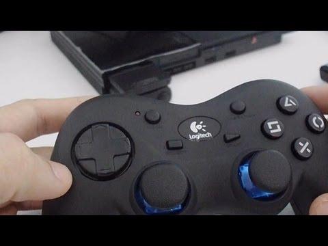 controle logitech cordless action ps2 unboxing e mini review rh youtube com logitech playstation 2 wireless controller manual Logitech Cordless Action Controller