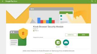 Part 2 install the google play store fully kiosk browser action