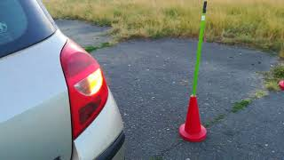 Уроки вождения на механике: параллельная парковка