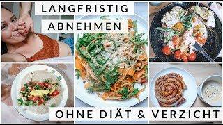 FOOD DIARY. LANGFRISTIG ABNEHMEN OHNE DIÄT & VERZICHT. Intuitive Ernährung. 30 Tage Challenge