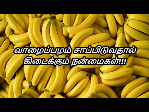 Benefits of Banana in Tamil | Summer Diet | Red Banana - Green Banana | Healthy Life - Tamil.