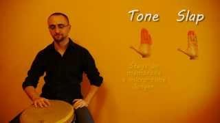 Djembe: Tone vs Slap thumbnail
