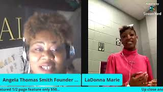 UP CLOSE & PERSONAL W/ AUTHOR LaDonna Marie